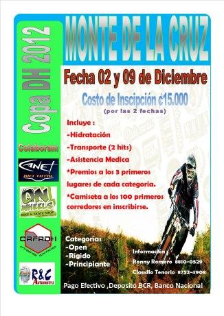 Afiche Monte de la Cruz 2012
