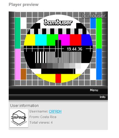 bambuser CRFRDH