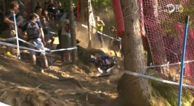 Brook MacDonald cae fuerte, deja escapar una buena corrida