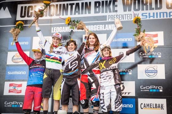 women_podium_Saalfelden_Leogang_by_Michael_Marte